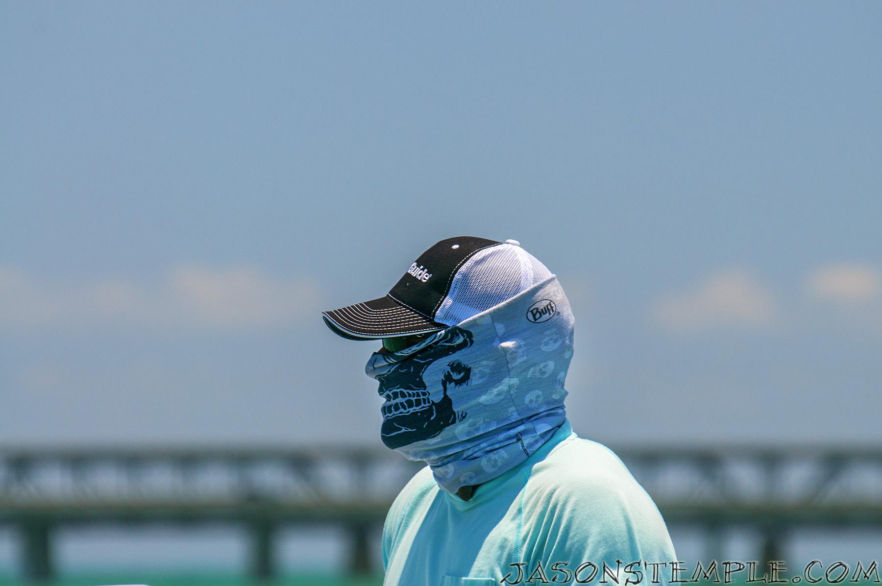 The Buff revolutionized fishing sun protection