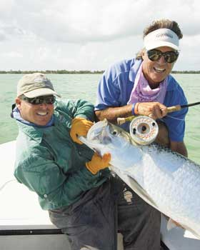 Doug Kilpatrick and Andy Mill have a lot of time together on the water and have caught a lot of tarpon.  Read on to hear which fly rod and reel Doug thinks is the best for tarpon