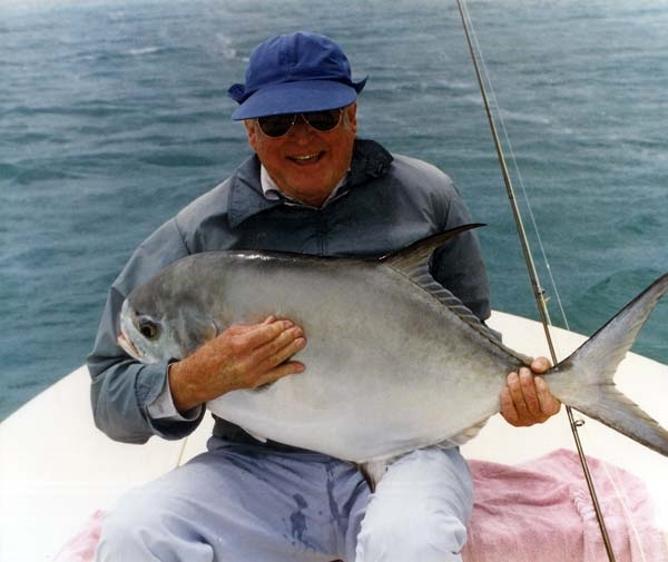 The undisputed king of Permit Flyfishing, Del Brown. He made the Merkin work over 500 times despite its lack of lifelike characteristics