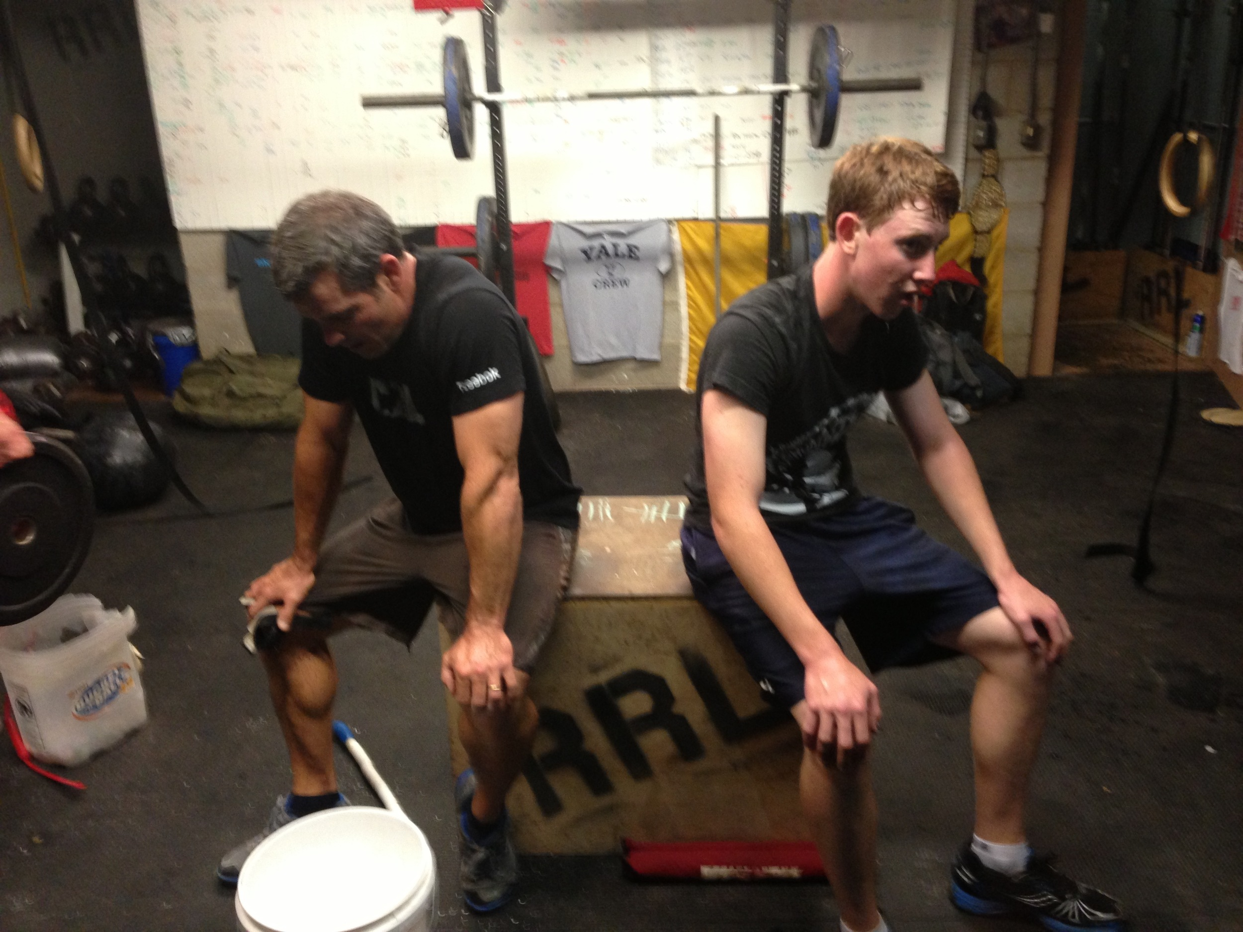 Me and Turner, wiped out after Triple Murph
