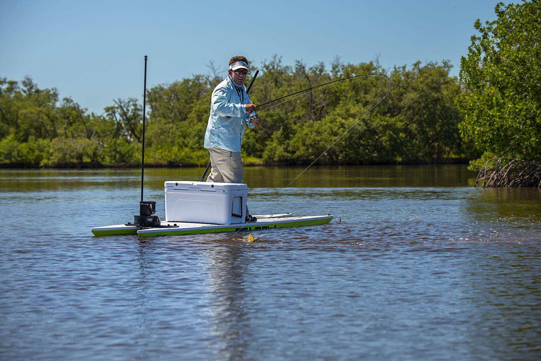 Livewatersports L2Fish paddle board