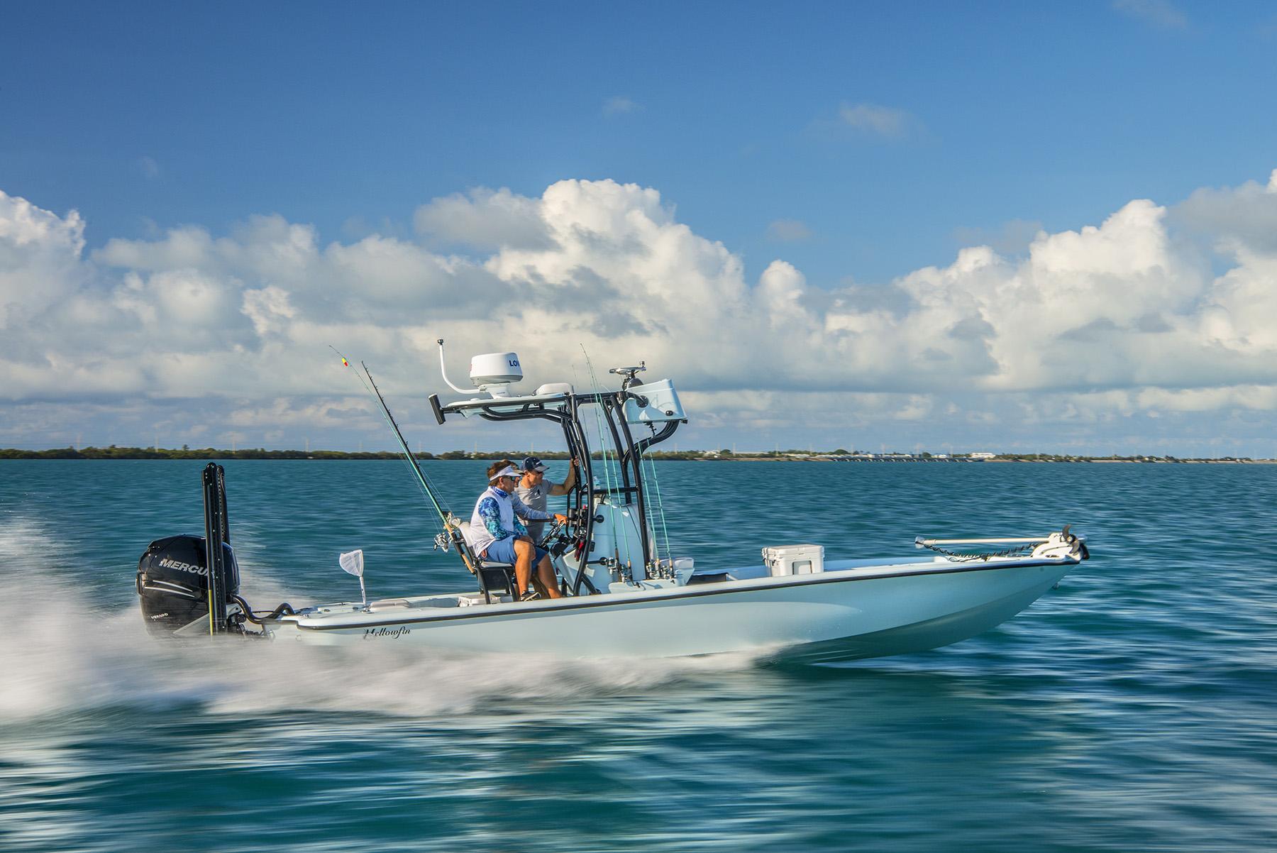 Cruising in our Yellowfin