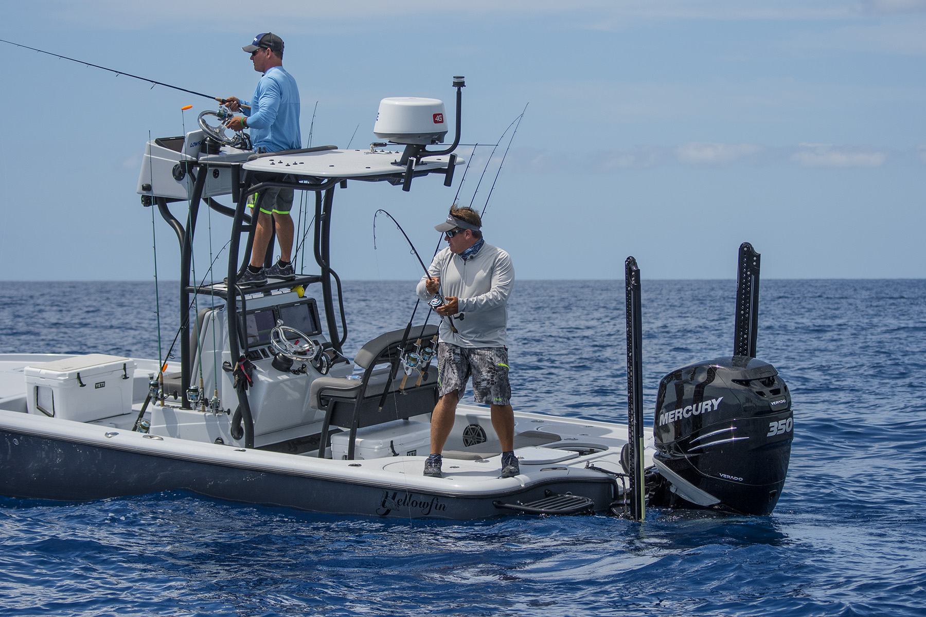 tom-rowland-and-rich-tudor-fish-using-their-motorguide-power-poles-mercury-verado-and-yellowfin-bay-boat