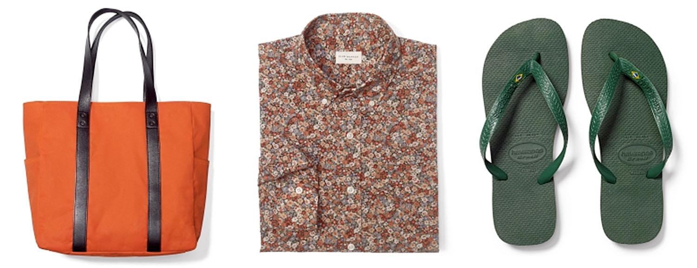 Bag-Flower-shirt-Green-flip-flops.jpg