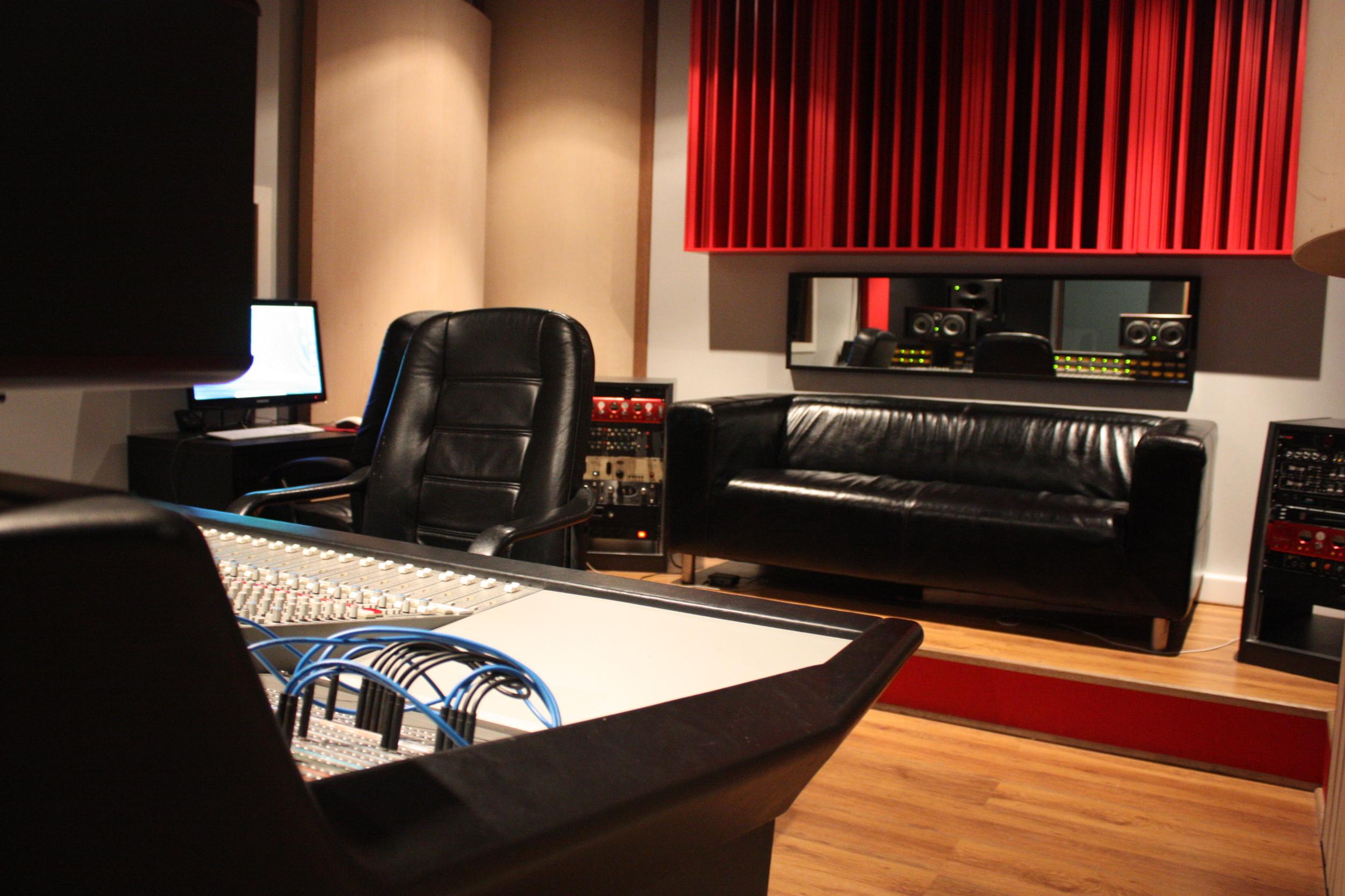 Control room - Uptown Studios