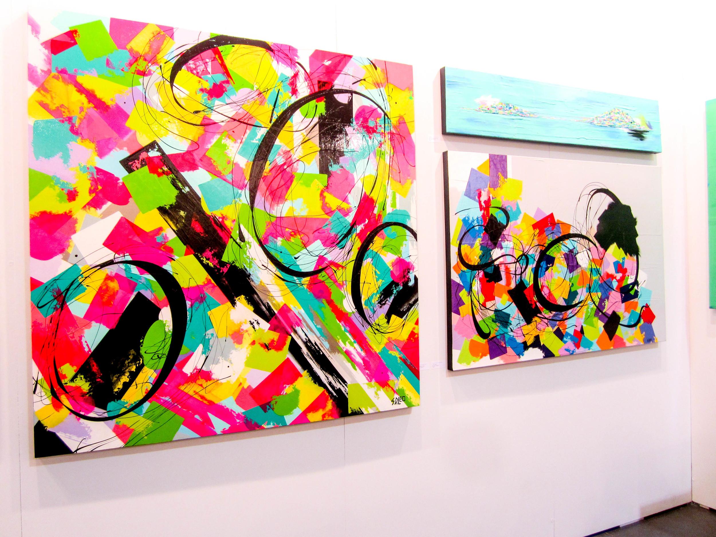 Sandra Di Leo // Abstract Expressionist