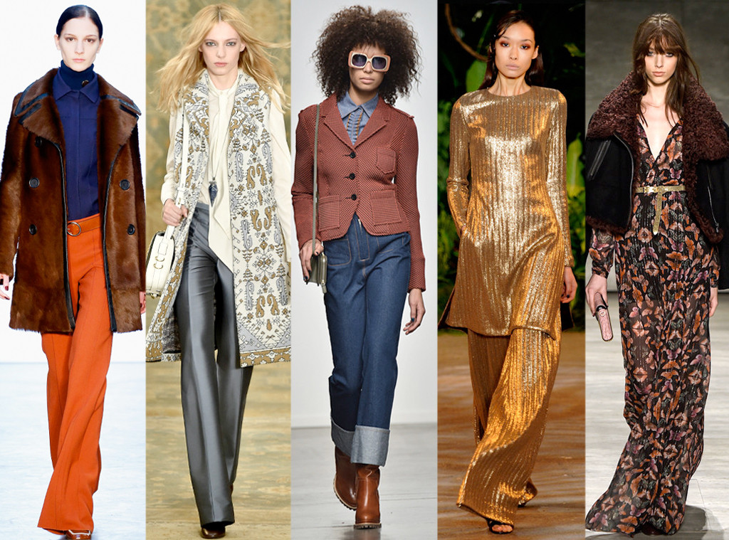 The trend of the past is becoming a prominent style of the future. If this season's runways indicated anything... it was the death of the skinny jean. Look forward to slipping in to something slouchy and stylish... revolutionizing the wide leg pant, prepare to see baggy jeans, culottes and flare jeans.