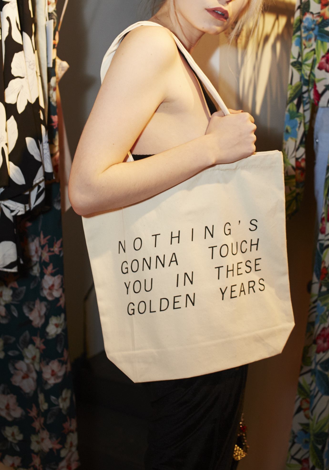 Golden Years Tote  by Fieldguided $25.00 CAN