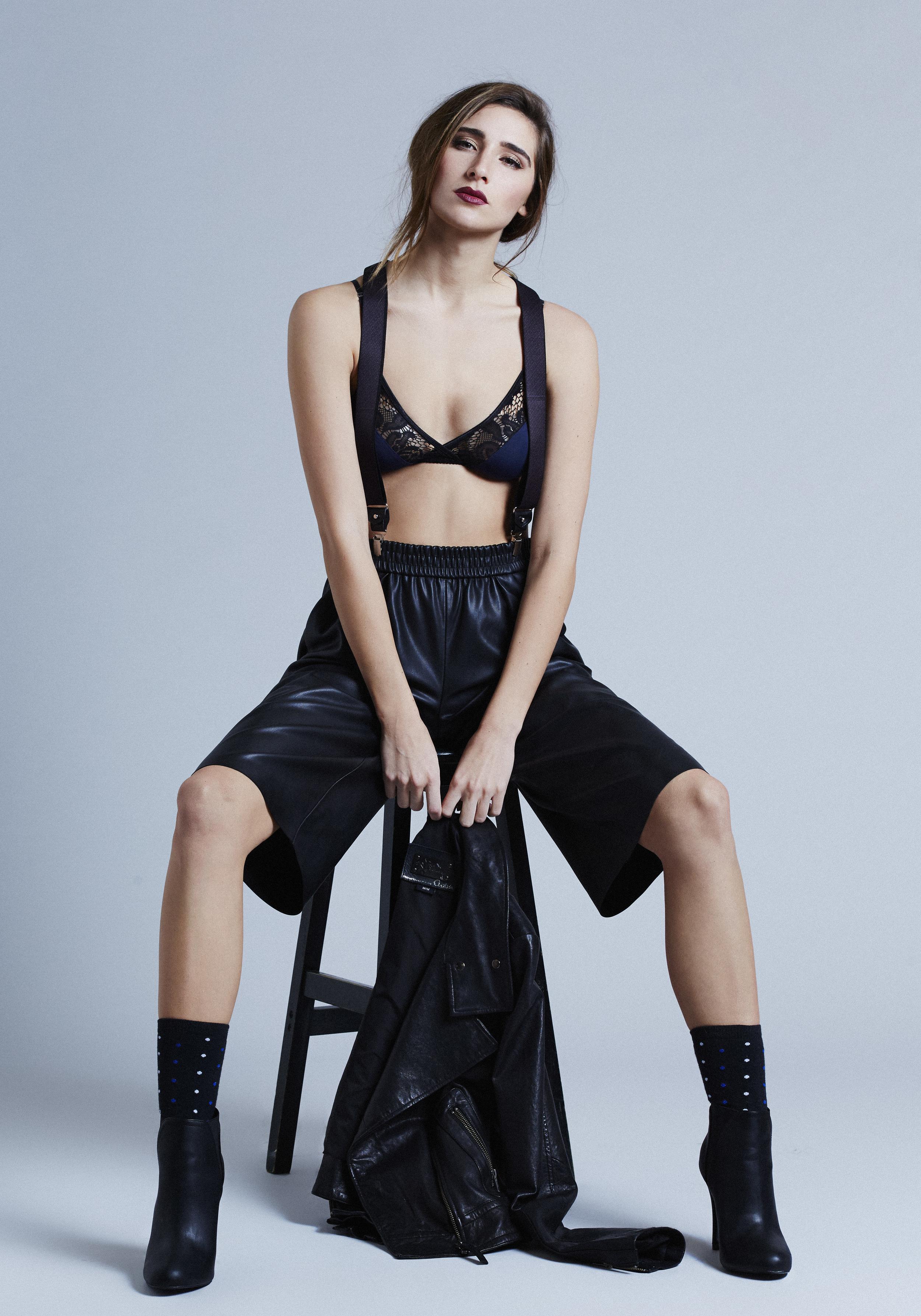 Shorts: Zara / Bralette: Fortnight Label