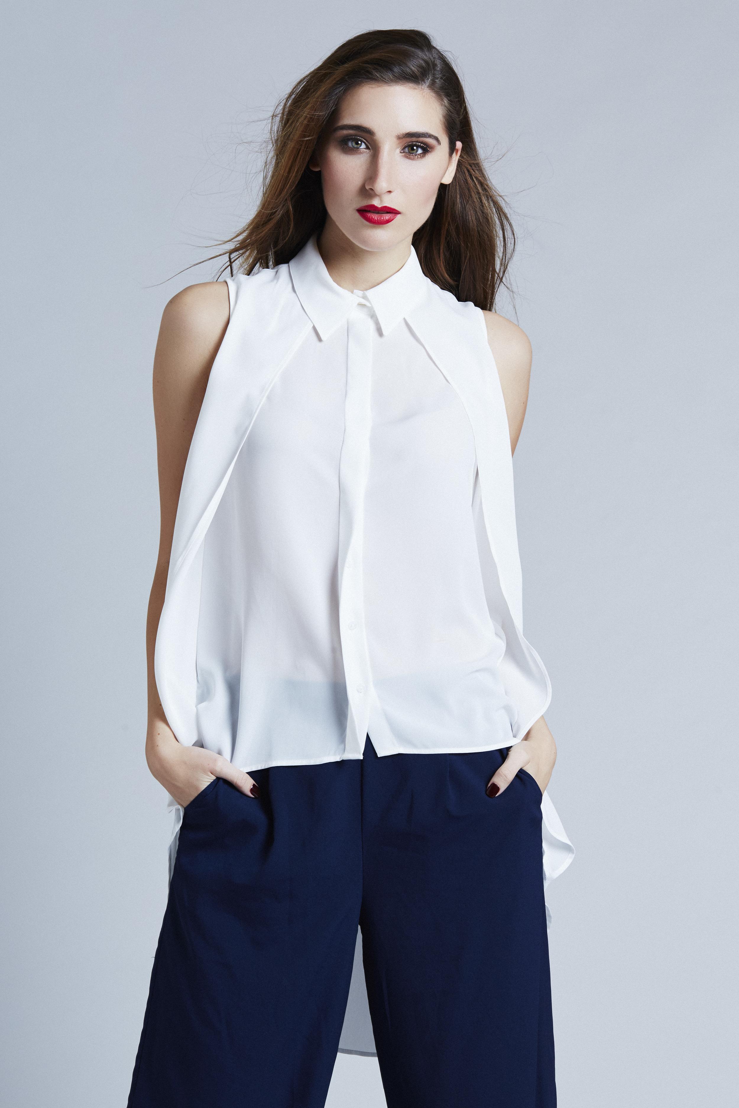 Blouse: Zara / Pant: M for Mendocino