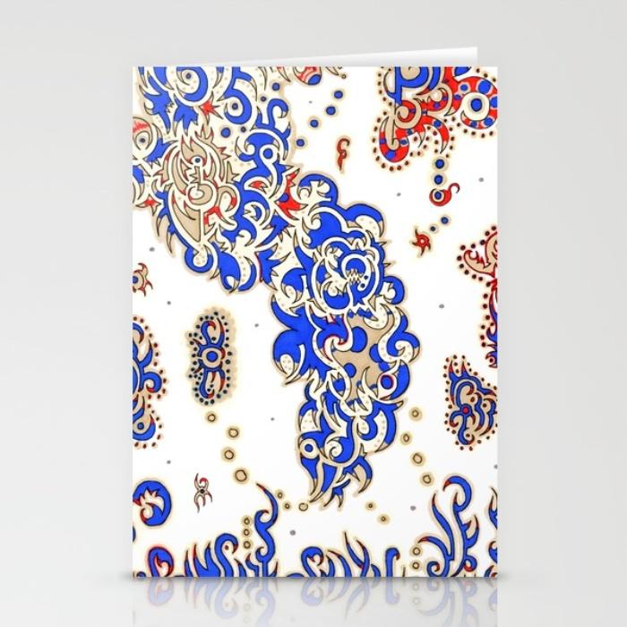 stationary card