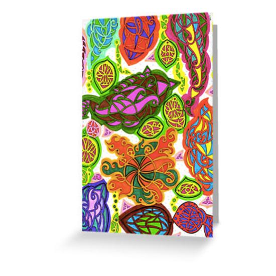 aubergine card