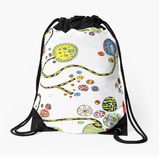 baioretto drawstring bag