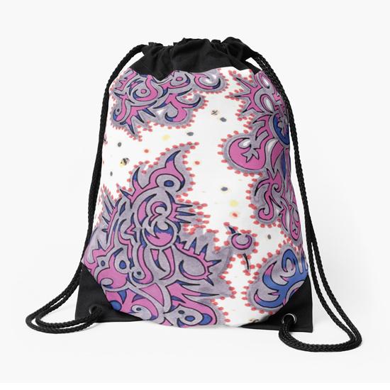kerala drawstring bag