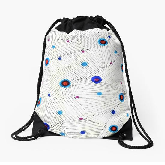 lumiere drawstring bag