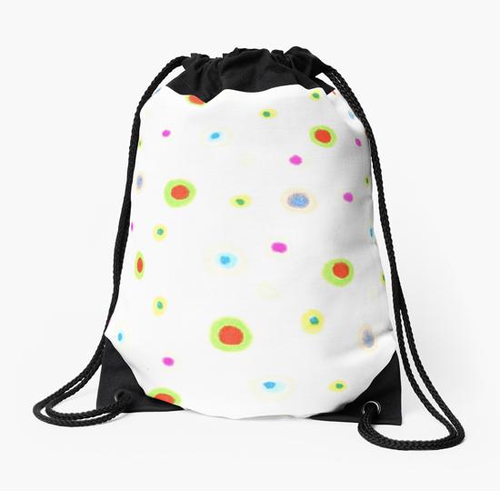 tropicana drawstring bag