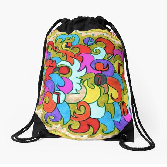 violetta drawstring bag