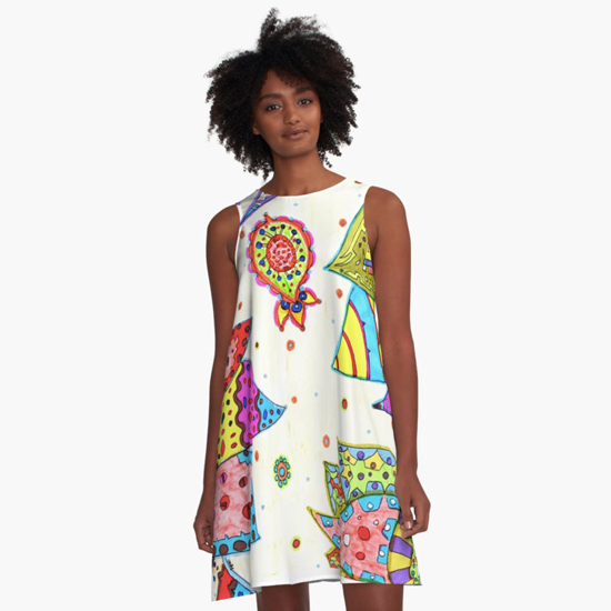 pinku dress