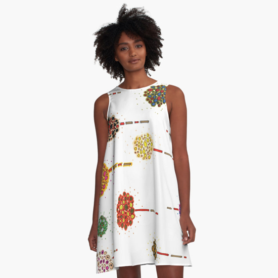 sea holly dress
