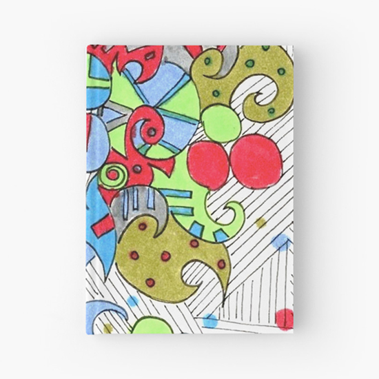 barcelonetta hardcover journal