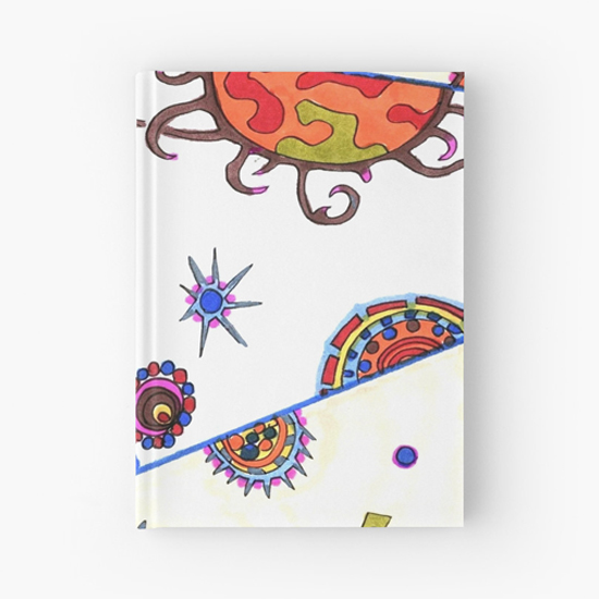 kasshoku hardcover journal