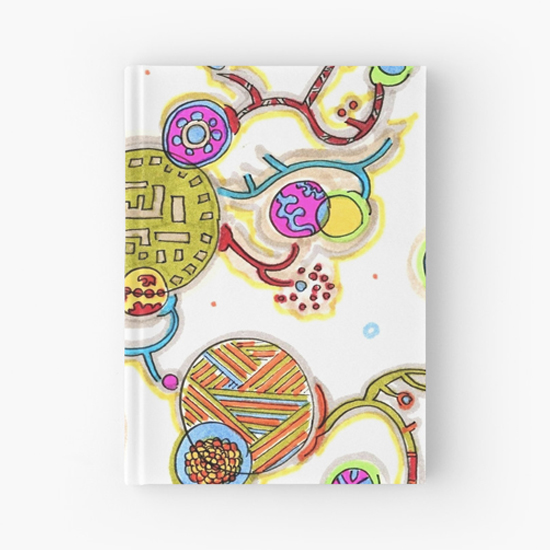 murasakino hardcover journal