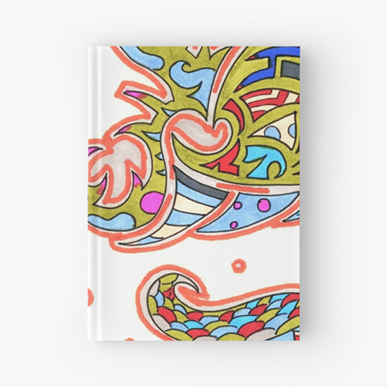 orengi hardcover journal