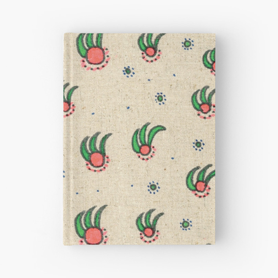 pineapple hardcover journal