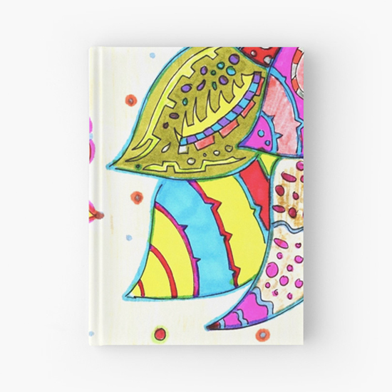 pinku hardcover journal