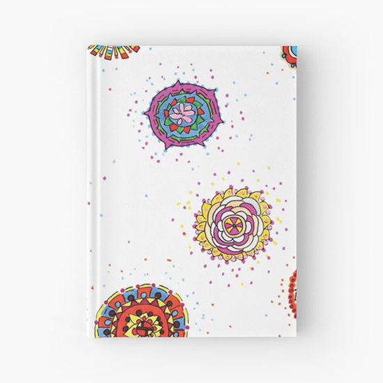 snap dragon hardcover journal