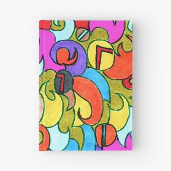 violetta hardcover journal