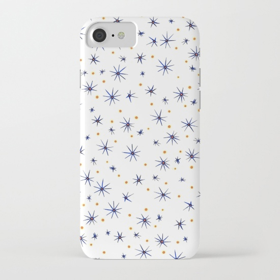 blue mattisse iphone case