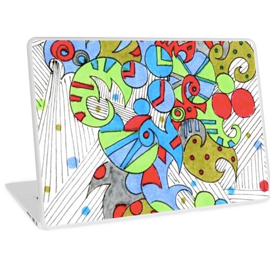 barcelonetta laptop skin