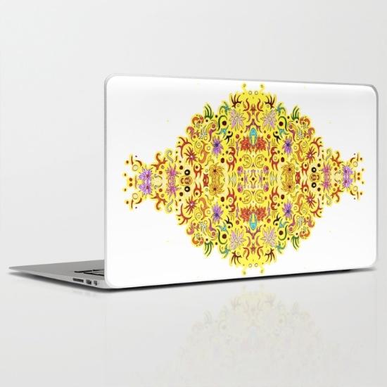 celebration laptop skin