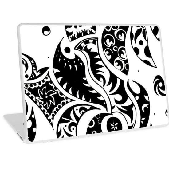 les friezes laptop skin
