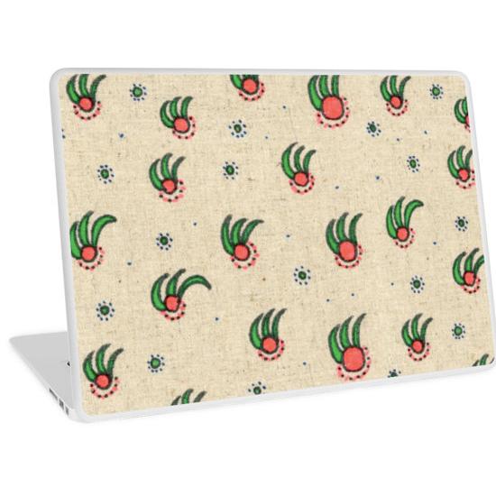 pineapple laptop skin