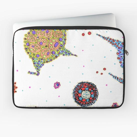 rozu laptop sleeve
