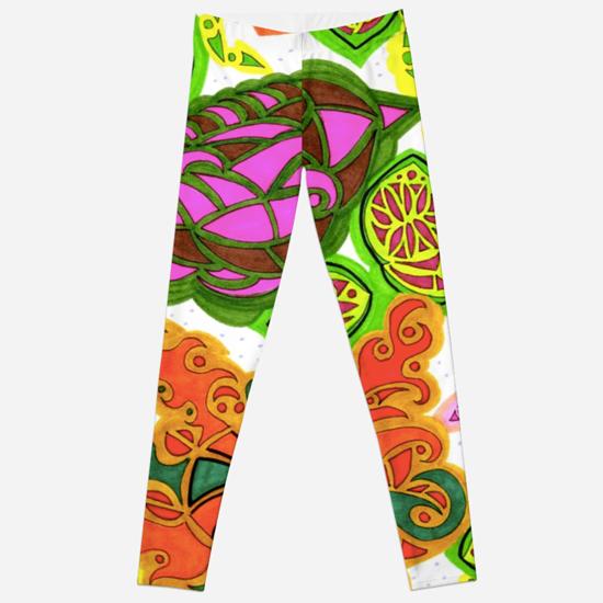 aubergine leggings