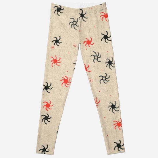 pinwheel leggings