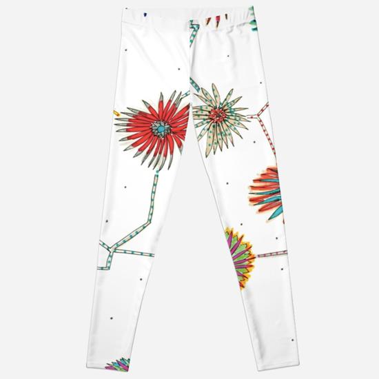 travelling daisy leggings