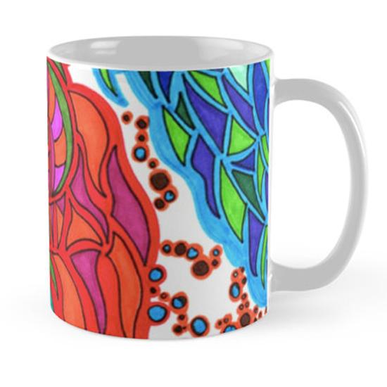 gaudi in january mug