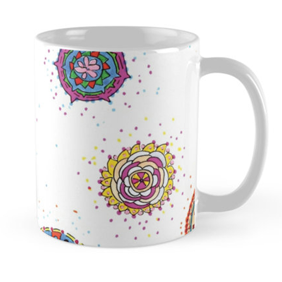 snap dragon mug