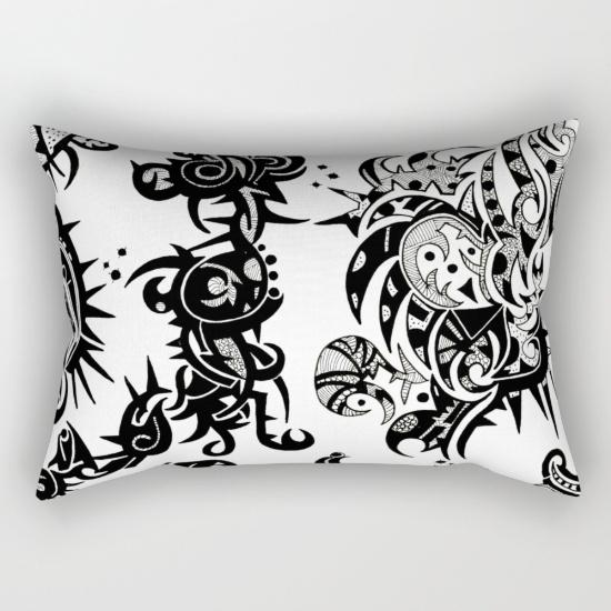 bhandavi rectangular pillow