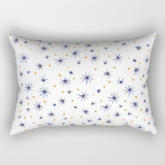 blue mattisse rectangular pillow