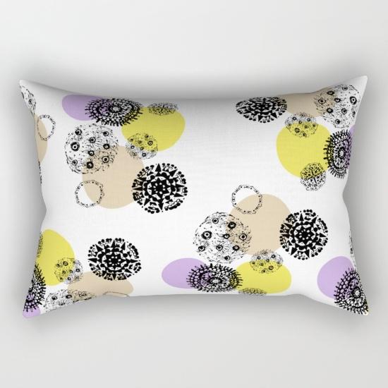 september snow new rectangular pillow