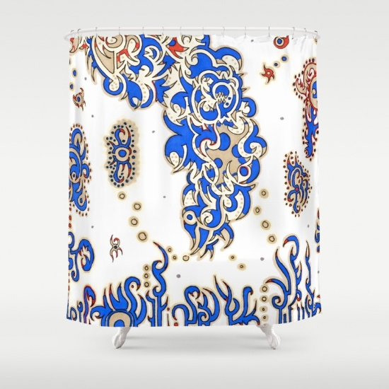 adelaide shower curtain