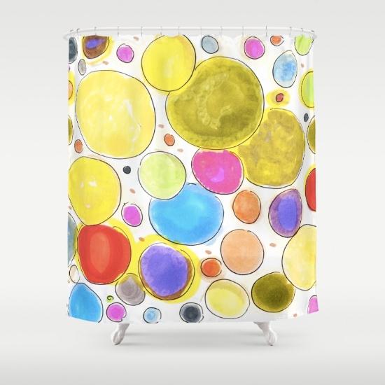 cherireddo shower curtain