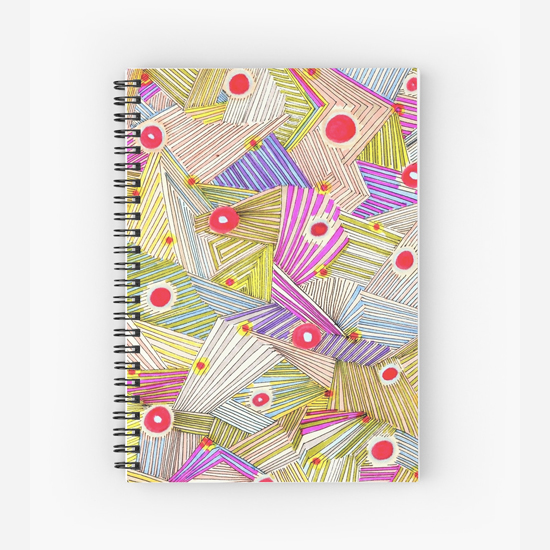 happenstance spiral notebook