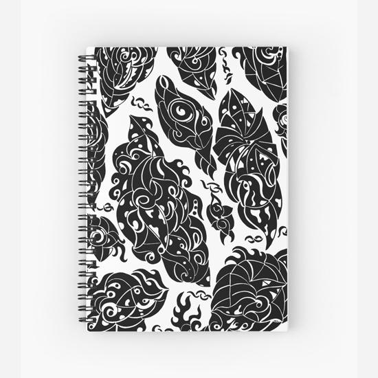 in sweden spiral notebook