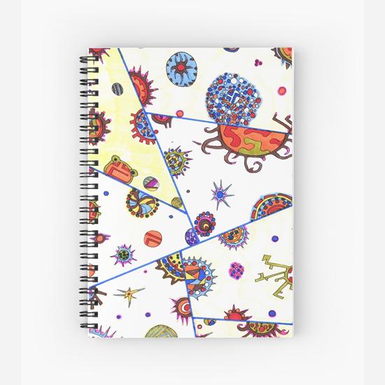 kasshoku spiral notebook